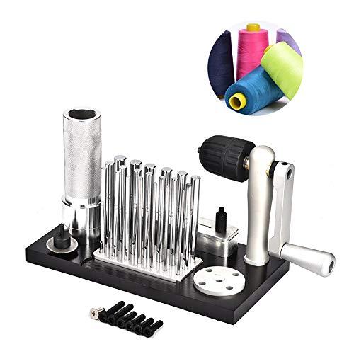 Jump Ring Maker, Professionele RVS Sieraden Coil Wire Cutter Machine Kit met 20 Mandrels van 2,5 mm tot 12 mm Voor Sieraden Makers