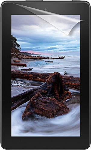 NuPro Clear Screen Protector for Amazon Fire 7 Tablet (9th Generation - 2019 release) (2-Pack)