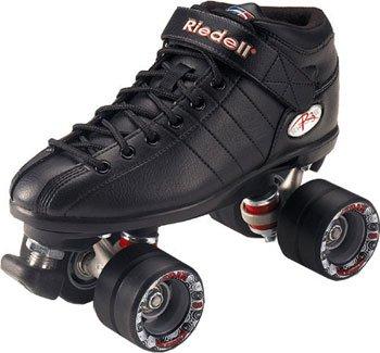 Riedell Schlittschuhe R3Roller Skate, Unisex, schwarz