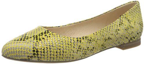 CAPRICE Damen 9-9-22104-26 Ballerinas, Lemon Snake, 40 EU
