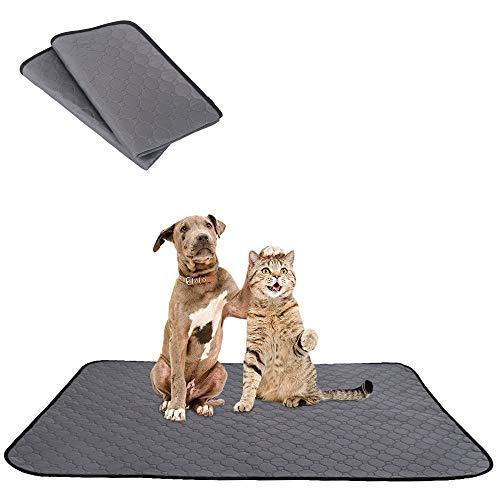 SlowTon Waschbare Pee Pad für Hunde, Super schnell absorbierende Wiederverwendbare...