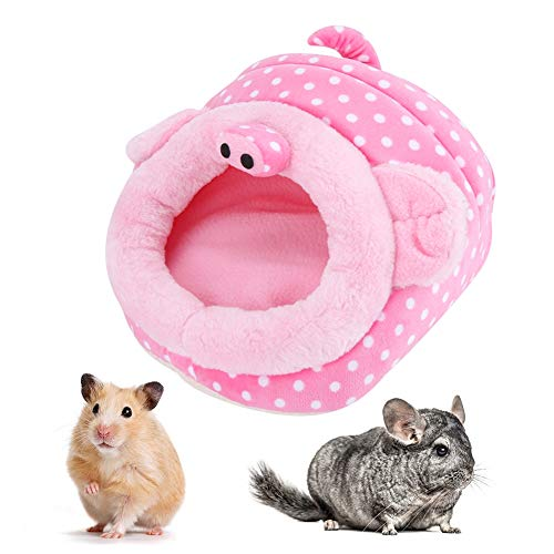 Pssopp Hamster Bed House Warm bed kleine dieren holle bedden Hamster Kast Kast ratten huis bed voor kleine dieren Hamster eekhoorns eekhoorns eekhoorns, 3
