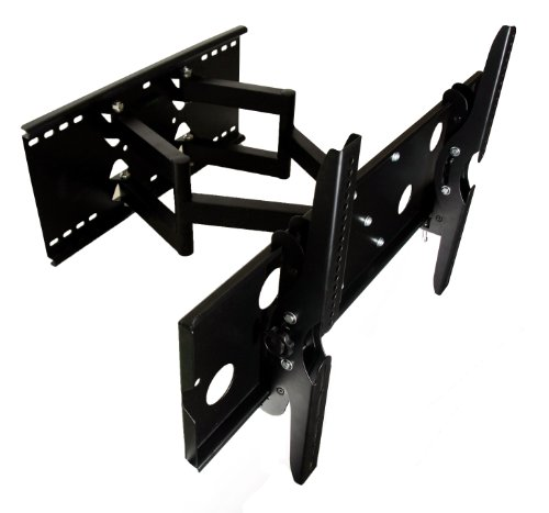 Mount-It! TV Wall Mount Full Motion and Heavy-Duty for Samsung, Sony, LG, Sharp, Insignia, Vizio, Haier, Toshiba, Sharp, Element, TCL, Westinghouse, 4K, 32, 40, 42, 48, 50, 55, 60 Inch, (MI-310B)
