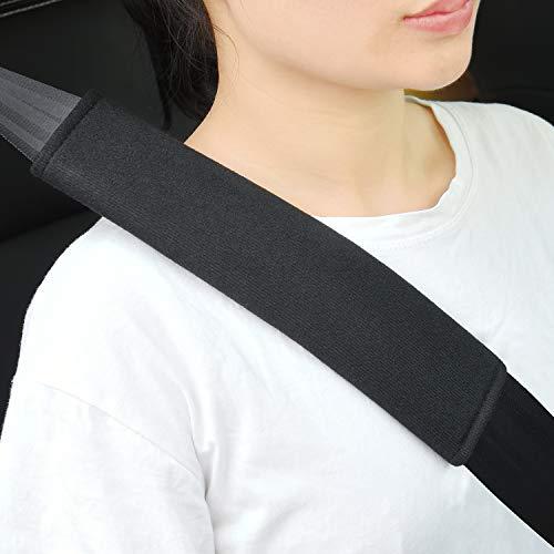 2 Stück Gurtpolster Auto Kinder, Sicherheitsgurt Bügel Gurtschutz, Gurtpolster Schulterpolster Schlafkissen Nackenstütze für Kinder