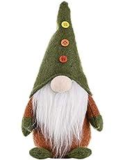 TomaiBaby Zweedse Kerst Santa Gnome Pluche Pop Handgemaakte Scandinavische Tomte Nordic Nisse Sockerbit Elf Dwerg Decoratie Voor Xmas Desktop Ornament