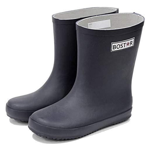 [ボストアール] レインブーツ キッズ 子供 長靴 男の子 女の子 BOST-R (13cm-23cm) 21cm,ダーク・ネイビー