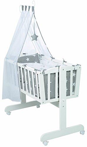 Juego de moises completo roba en diseño 'Little Stars' (40x90cm), moises en...