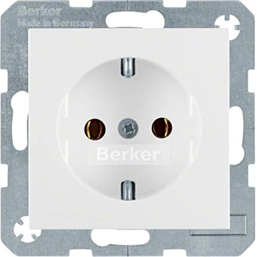 Berker Schuko-Steckdose pws matt 41431909 B.1;B.3;B.7;S.1 Steckdose 4011334233961