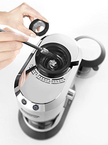 De'Longhi KG 520.M Molinillo de café eléctrico con con manejo manual,