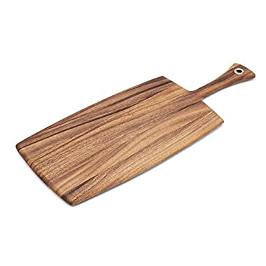 Ironwood Gourmet 28118 Large Rectangular Provencale Paddle Board, Acacia Wood