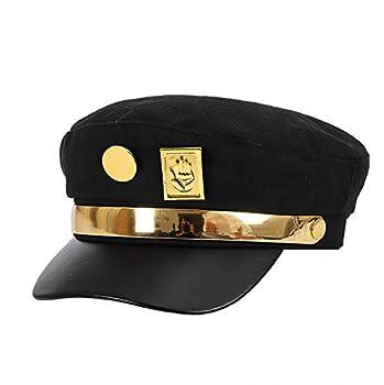 H&fashion Cool Hat Jotaro Kujou Cap Cosplay Black Style 2
