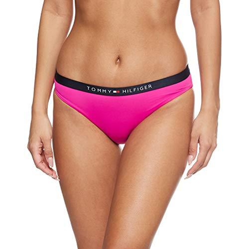Tommy Hilfiger Damen Classic Bikini-Set, Pink (Pink Glo), XS