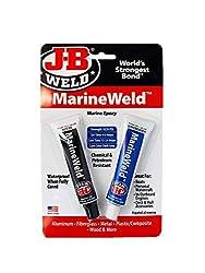 professional JB Weld 8272 Marine Weld Marine Epoxy – 2 oz.