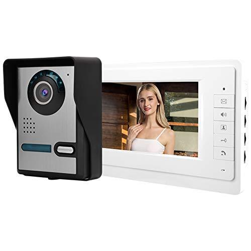 Videoportero Bajo Consumo de energía Alta Seguridad Fácil de Instalar(European Standard (110-240V))
