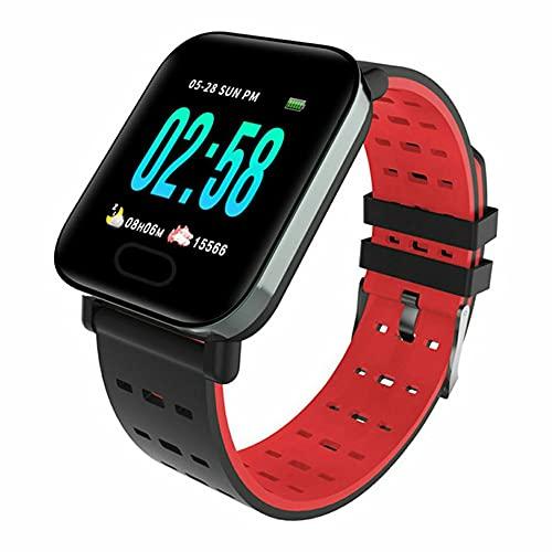 DAMAJIANGM Pulsera Inteligente Life Waterproof A6, monitorización del sueño, Pulsera de liberación rápida, Punta de Mensaje, Espera Ultra Larga