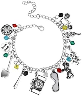 AuCatStore(TM) Stranger Things Themed Charm Bracelet Funny Beautiful Jewelry Gift Girls Sister