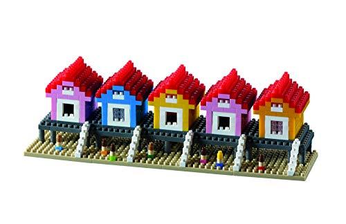 Brixies 410141 STRANDHÄUSER, Mehrfarbig