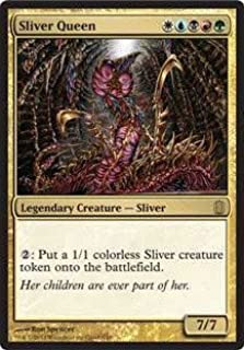 Magic: the Gathering - Sliver Queen - Oversized - Commander's Arsenal - Foil