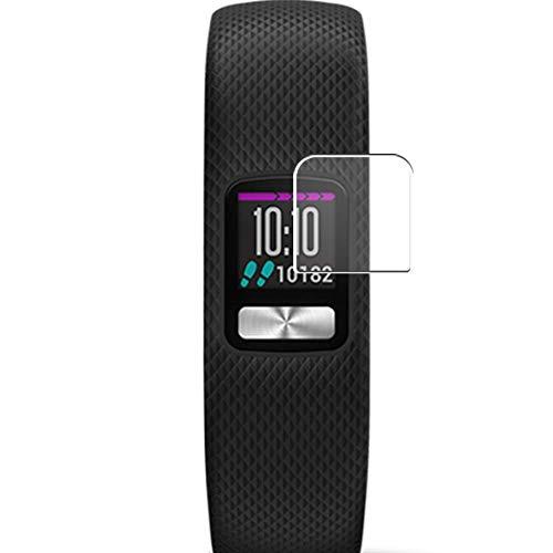 Vaxson 3 Unidades Protector de Pantalla, compatible con Garmin Vivofit 4 smartwatch Smart Watch [No Vidrio Templado] TPU Película Protectora