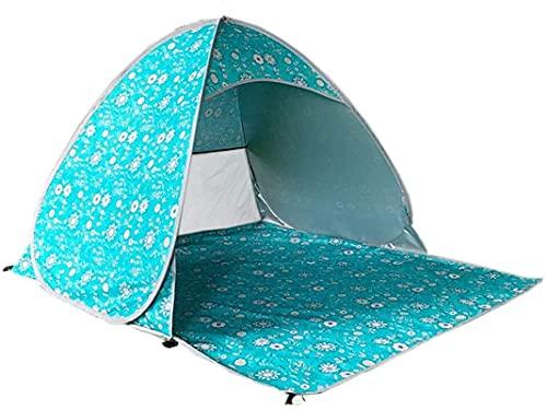 Ankon Tragbare Familie Camping Zelt Outdoor Automatisches Strandzelt Camping Haushalt Regensturm-Proof Einpersonen im Freien Picknick Markise für Rucksackfischen