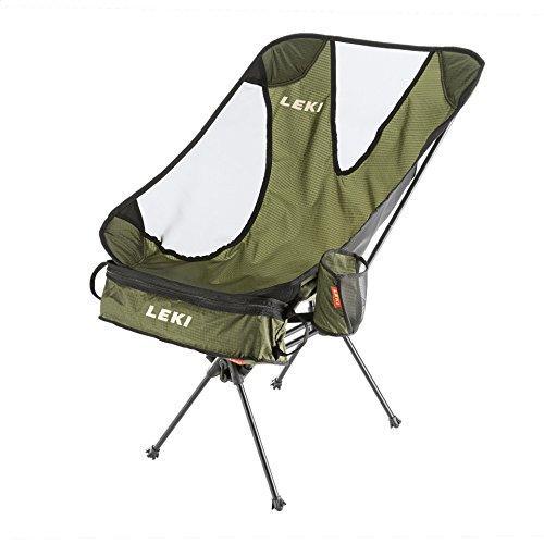 Leki 380080.Kühlschrank Faltbare Stuhl, Olive, 58.X 50.X 84.cm