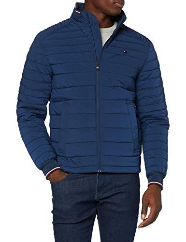 Tommy Hilfiger Herren Stretch Quilted Jacket Jacke, Night Sky, S
