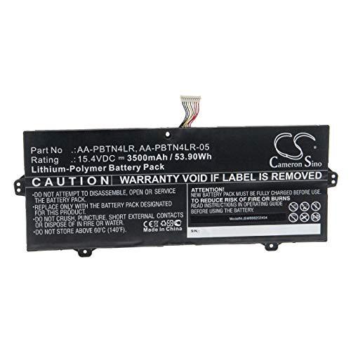 vhbw Batería Recargable Compatible con Samsung NT950SBV, NT950SBV-A58A, NT950SBV-A58WA Notebook (3500 mAh, 15,4 V, polímero de Litio)