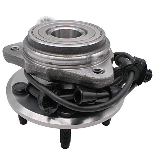 MACEL 515003 Front Wheel Hub Bearing Assembly Compatible with 1995-01 Ford...