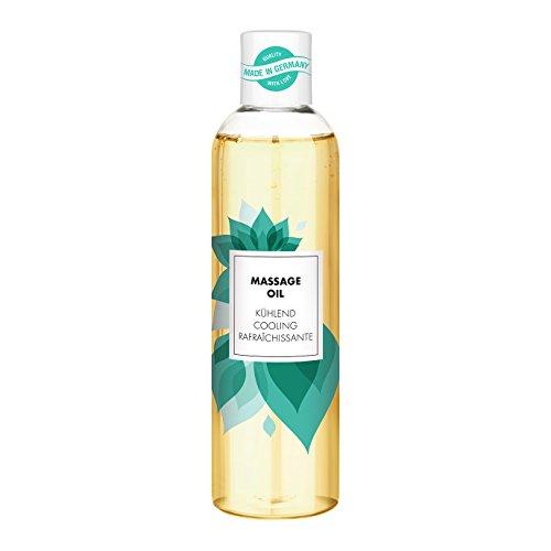 Aroma Massageöl für entspannende Massagen | erotisches Massage Öl | kühlend mit Minz-Aroma | 250ml