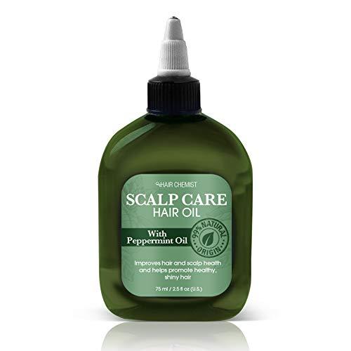 Hair Chemist Cheveux soin du cuir chevelu avec huile de menthe poivrée 75 ml