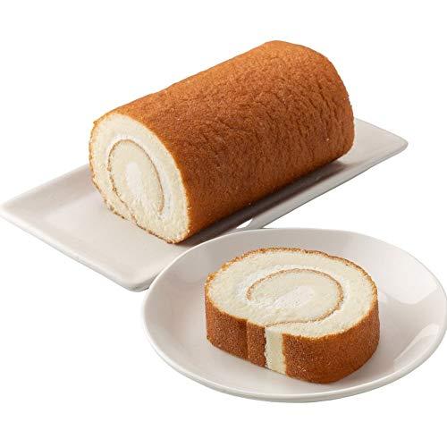新杵堂 塩ロール 2本 洋菓子 スイーツ お土産 ギフト | 生地に岩塩を使ったふわふわロールケーキ | 塩味が深い甘みを
