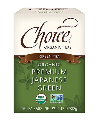 Choice Organic Teas - Premium Japanese Green Tea - Organic Green Tea - 6 Pack,...