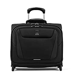 professional Travelpro Maxlite 5-Softside Lightweight Underseat Roller Bag, Black, 16 ""