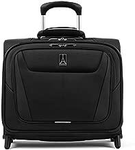 Travelpro Maxlite 5-Softside Lightweight Underseat Rolling Tote Bag, Black, 16-Inch
