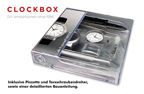 CLOCKBOX Fun DIY Uhrenbausatz Armbanduhr