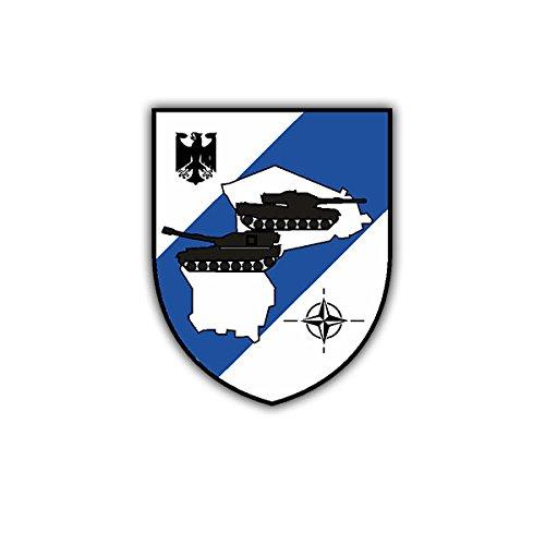 Aufkleber / Sticker - BwDLZ Munster Luftwaffe Bundeswehr Wappen Abzeichen Deutschland Emblem Militär 7x6cm #A1866