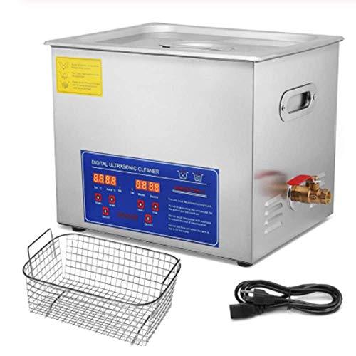 SISHUINIANHUA 10 litros Industria De La Calefacción Ultrasónico De Limpieza Equipo De Limpieza Temporizador Digital,110v