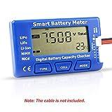 Probador de Capacidad de la batería Digital RC, medidor de batería Inteligente 5 en 1, comprobador de Capacidad del probador de Esc para 1-7S LiPo Life Li-Ion NiMH batería