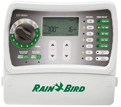 Rain Bird SST900IN Simple-to-Set Indoor Sprinkler/Irrigation System Timer/Controller, 9-Zone/Station (This New/Improved Model Replaces SST900I) - 1