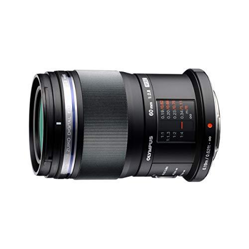 Olympus M.Zuiko ED 60mm f2.8 Macro MILC V312010BU000 - Objetivo, Color Negro