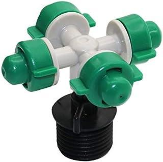 Garden Pots Inomized فوهة الشتلات البخاخ الماء Farmg1 / 2 موصل الري القطارة أدوات البستنة معدات المعدات 8PCS for All House...