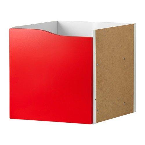 IKEA KALLAX Regal Einsatz mit Tür ohne Griff in rot; (33x33cm); passt zu EXPEDIT