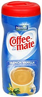 Coffee-mate Coffeemate French Vanilla Powder 15 Ounce Canisters Pack of 5