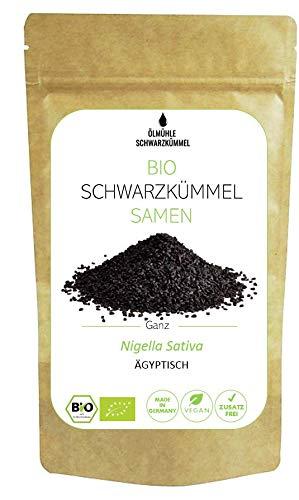 Ölmühle Schwarzkümmel - Premium Bio Schwarzkümmel Samen - 150 g