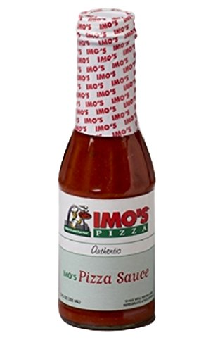 Imo's Pizza Sauce (12-Ounce Bottle), Authentic Imo's Pizza St. Louis Style...