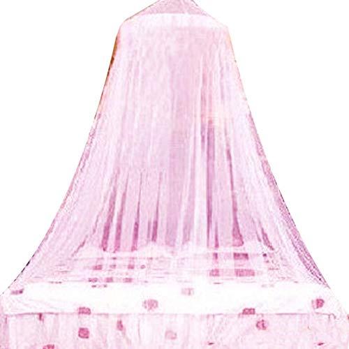 Floridivy Tragbare mongolische Folding Bed Net Dome Spitze Mosquito Reißverschluss Moskito Vorhang, Bidirektionale Bedding Net Bett Indoor Outdoor-Spiel-Zelt