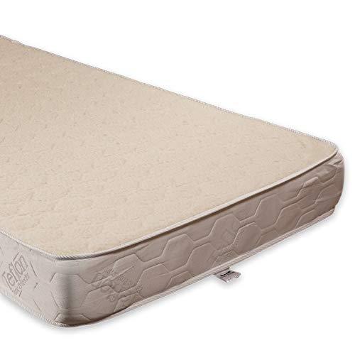 Sleepy-Strong-Comfort Basic Harte MATRATZEN (Wolle Bezug, 140 x 200 cm)