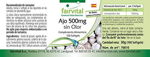 Knoblauch geruchlos 500mg 100 Softgels - 5
