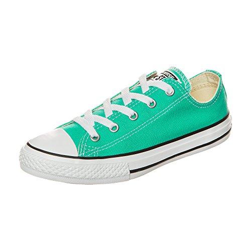adidas Chuck Taylor All Star Fresh Colors OX, Zapatillas de Baloncesto Unisex niños, Verde, 29 EU