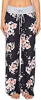 Image of Comfortable Floral Lounge Pajama Pants for Women - See More Prints